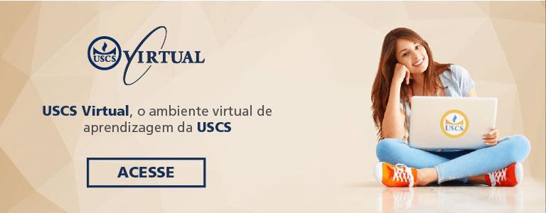 Acesse o USCS Virtual