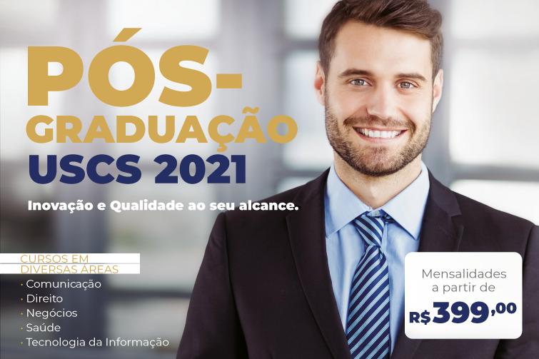 Inscrições USCS Pós Lato Sensu